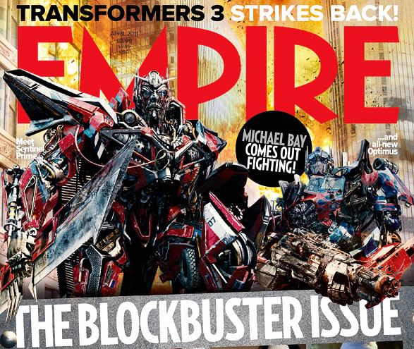 Transformers 3 - Empire Cover